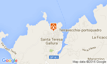 Map Santa Teresa di Gallura Apartment 105883