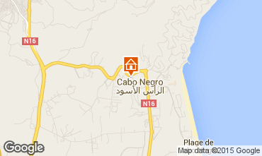 Map Cabo Negro Apartment 78409