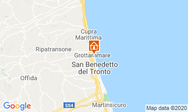 Map Grottammare Apartment 83988