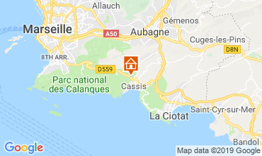 Map Cassis Villa 118042