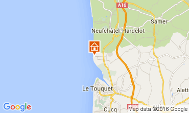Map Le Touquet Villa 74740