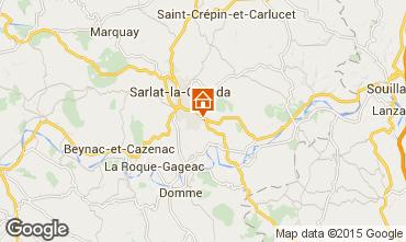 Map Sarlat Apartment 89481