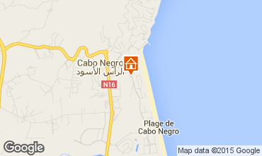 Map Cabo Negro Apartment 78772