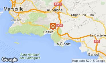 Map Cassis Villa 8409