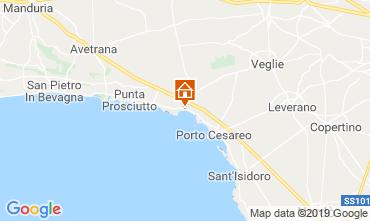 Map Porto Cesareo Apartment 111282