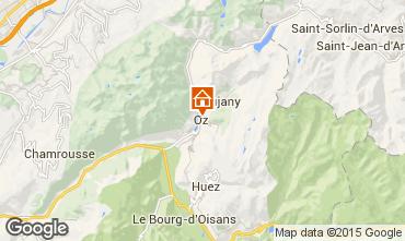 Map Oz en Oisans Studio apartment 74603
