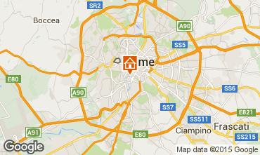 Map Rome Apartment 101608