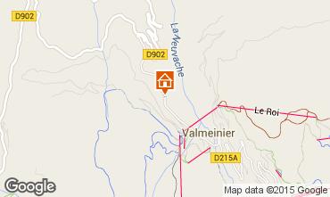 Map Valmeinier Chalet 3441