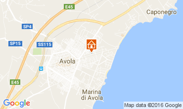 Map Avola Villa 75699