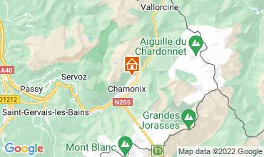 Map Chamonix Mont-Blanc Chalet 88059