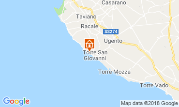 Map Ugento - Torre San Giovanni Apartment 71810