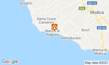 Map Marina di Ragusa Studio apartment 118644