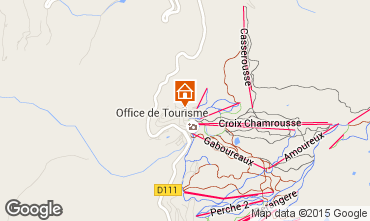 Map Chamrousse Chalet 88811