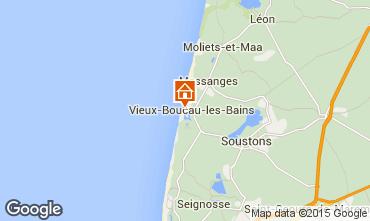 Map Vieux Boucau Apartment 85237
