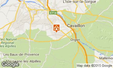 Map Saint Rémy de Provence Self-catering property 11846