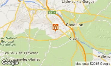 Map Saint Rémy de Provence Self-catering property 11846
