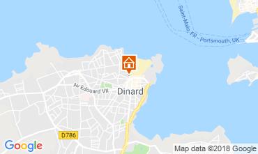 Map Dinard Apartment 117536