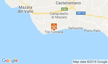 Map Tre Fontane Villa 105374