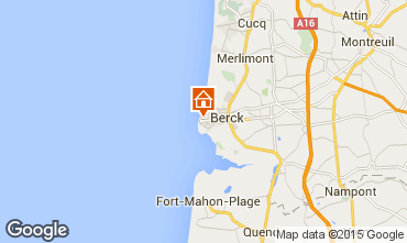 Map Berck-Plage House 23153