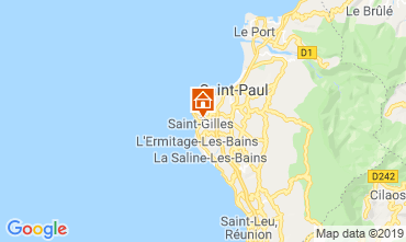 Map Saint Gilles Self-catering property 110815
