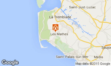 Map Les Mathes Mobile home 77782
