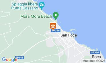 Map San Foca Apartment 108902
