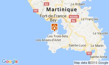 Map Trois Ilets Apartment 107060