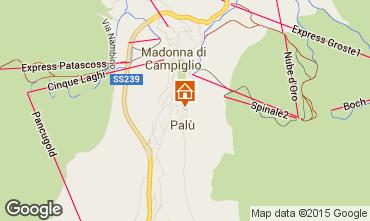 Map Madonna di Campiglio Apartment 67442