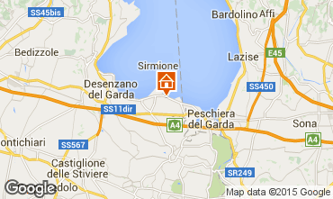 Map Sirmione Apartment 99526