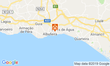 Map Albufeira Apartment 111569