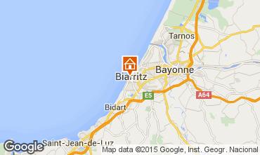Map Biarritz Studio apartment 30085