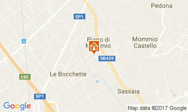 Map Massarosa Villa 108624