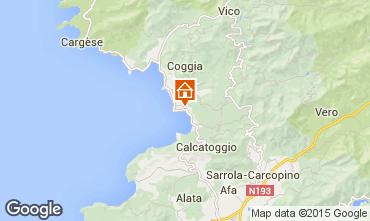 Map Ajaccio Studio apartment 94021