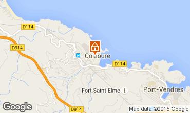 Map Collioure Flat 89249