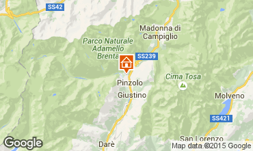 Map Pinzolo Apartment 67621
