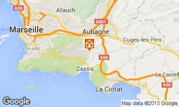 Map Cassis Villa 82021