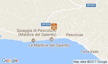 Map Pescoluse Apartment 109200