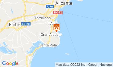 Mapa De Santa Pola.Santa Pola Holiday Rentals