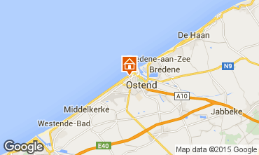 Map Ostend Apartment 101727