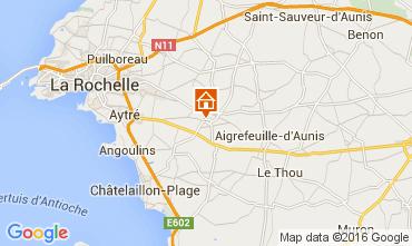 Map La Rochelle Studio apartment 104636