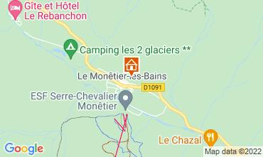 Map Serre Chevalier Apartment 2909