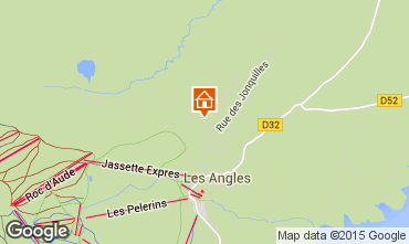 Map Les Angles Chalet 91879