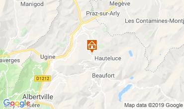 Map Les Saisies Studio apartment 2714