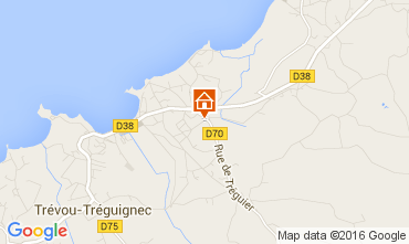 Map Perros-Guirec House 97827