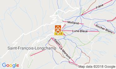 Map Saint François Longchamp Apartment 58535