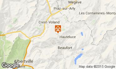 Map Les Saisies Apartment 34066