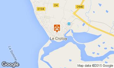 Map Le Crotoy House 52518