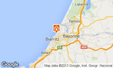 Map Anglet Apartment 70204