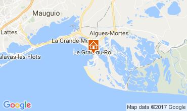 Map Le Grau du Roi Apartment 108260