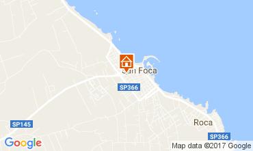 Map San Foca Apartment 103288